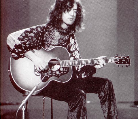 Jimmy Page, Elvis, and John Lennon all Played the Gibson J 200.